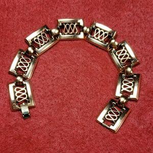 Midcentury Matisse Renoir Copper bracelet